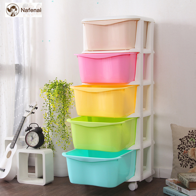 Plastic Drawers toy chest Large Space Chest Of Drawers Organizer Storage Box For Clothes And Food drawer organizer plastic