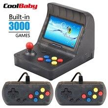 Taşınabilir Retro Mini elde kullanılır oyun konsolu 4.3 Inç 64bit 3000 Video Oyunları klasik Aile Oyun Konsolu Hediye RETRO ARCA...