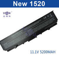 HSW 5200mah battery for Dell Inspiron 1720 530s 1520 1521 1721 Vostro 1500 1700 312-0576 312-0590 312-0594 312-0589 312-0504