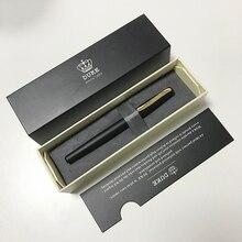 Роскошный подарочный набор ручек Duke 209 матовая черная и Золотая перьевая ручка с 0,5 мм пером высококачественные металлические чернильные ручки