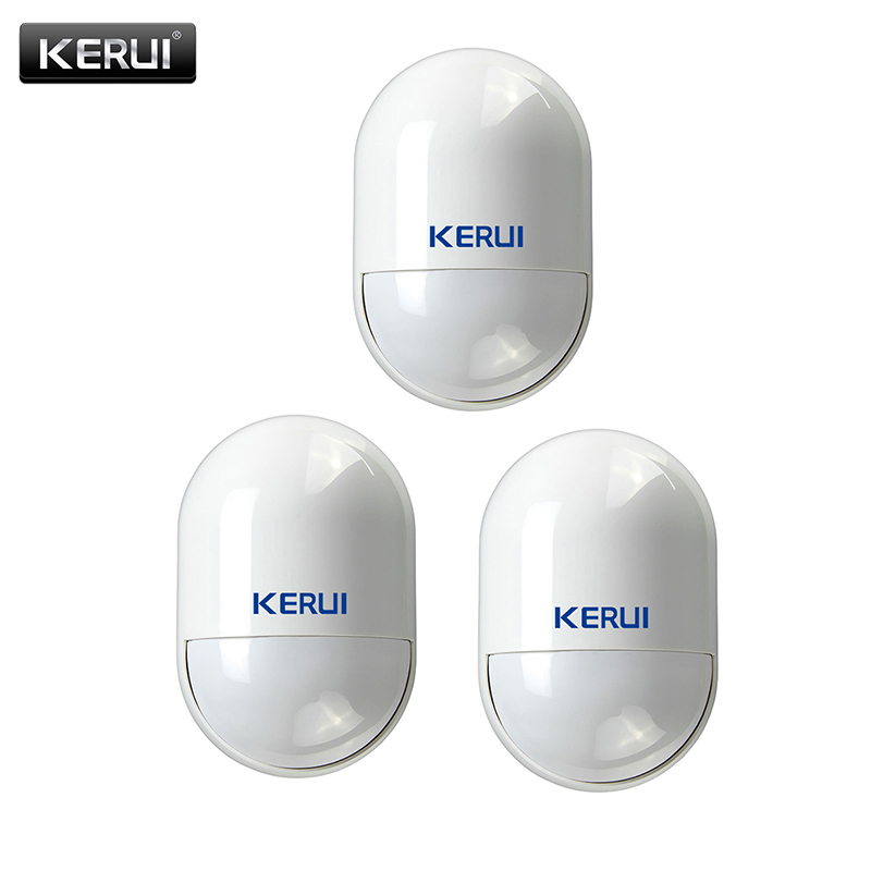 KERUI Wireless 433mhz Infrared Detector Power Failure Reminder Smart Home Anti-tamper Pir Motion Sensor for KERUI Alarm SystemKERUI Wireless 433mhz Infrared Detector Power Failure Reminder Smart Home Anti-tamper Pir Motion Sensor for KERUI Alarm System