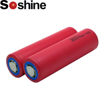 Soshine 18650 NCR20700B 4250mAh 3.7V Li-ion Rechargeable Battery with Safety Relief Valve for LED Flashlight / Bicycle Lamp цена 2017