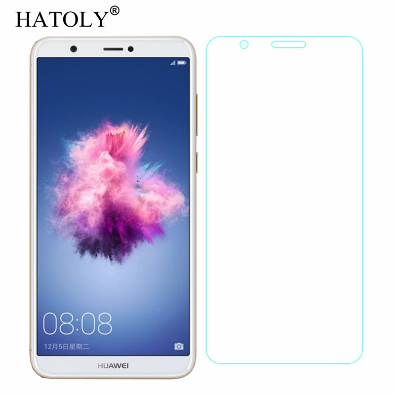 2PCS Screen Protector Glass Huawei Enjoy 7S Tempered Glass For Huawei Enjoy 7S Glass Huawei Enjoy 7 S Anti scratch Film HATOLY in Phone Screen Protectors from Cellphones Telecommunications
