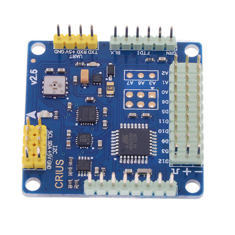 CRIUS MultiWii Standard Edition Flight Controller MWC SE V2.6 for Multicopter wholesale 1pcs mwc multiwii standard se v2 5 flight controller for multicopter quad x gimbal dropship
