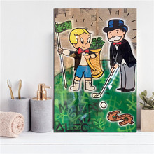 Monopolyingly Goyard Golf Wall Art Canvas Poster And Print Painting Decorative Picture For Office Bedroom Home Decoration