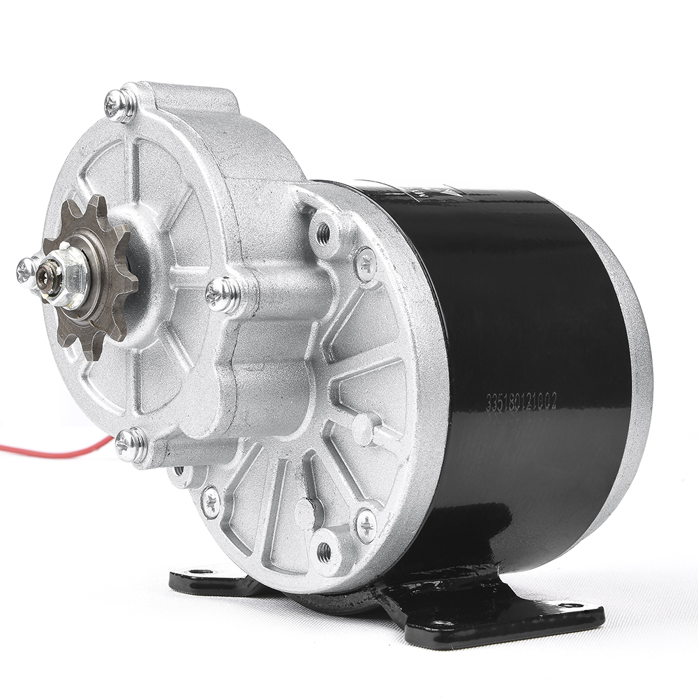 Electric Bicycle 350W 24V 36V Brushed Gear DC Motor For