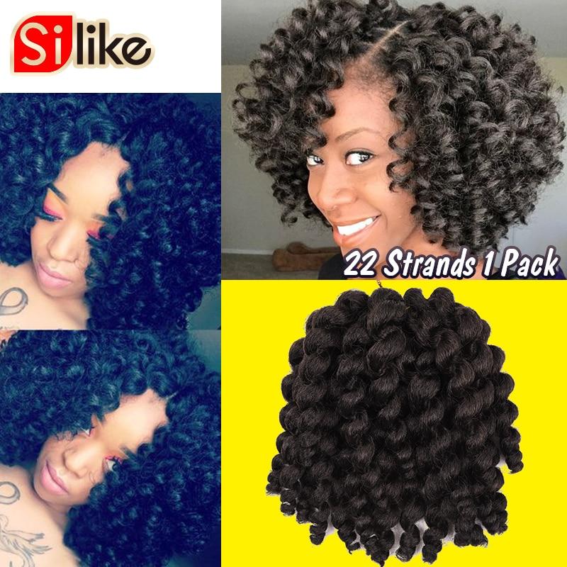 22 Roots Jamaican Bounce Crochet Twist Braids Hair 6