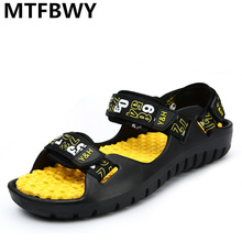 2016 new fashion men's sandals casual shoes man outdoor beach slippers summers sandals Hombre sapato masculin size 39-44 RA137M