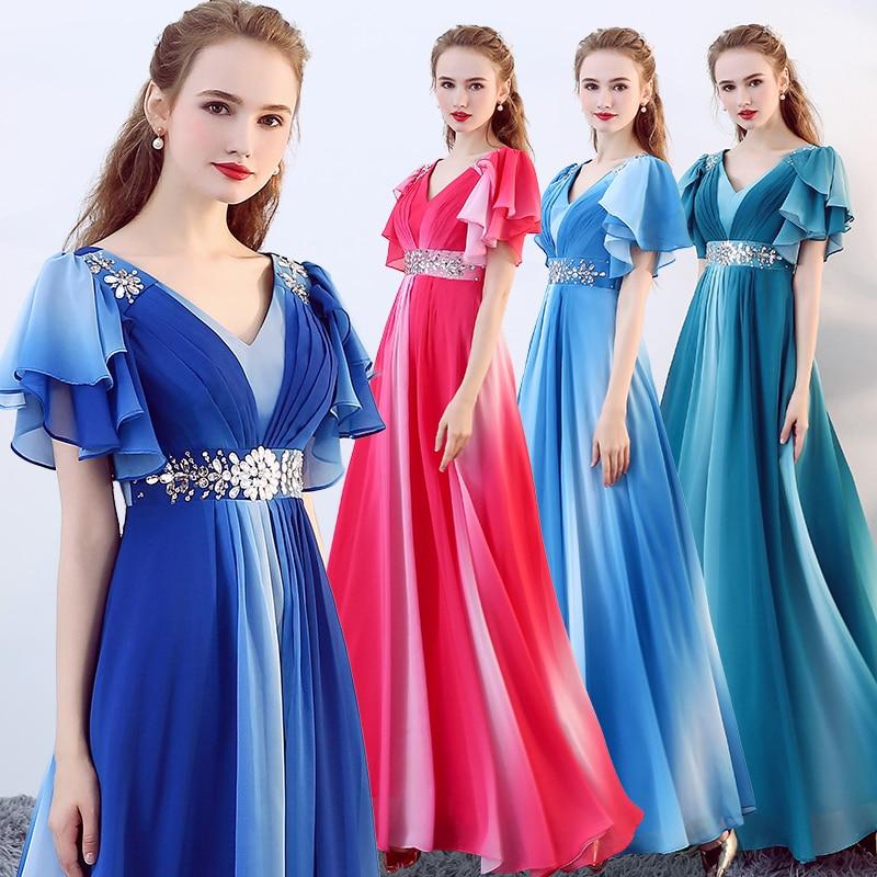 Robes Adulte Longues Costume De Sequin Femme 1 4 Style Mode 2018 Étudiants Performance 2 3 Nouveau Femmes Élégance Refrain tsQrdh