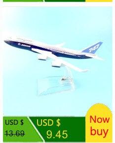 avião liga modelo diecast 1:144 aviões de metal