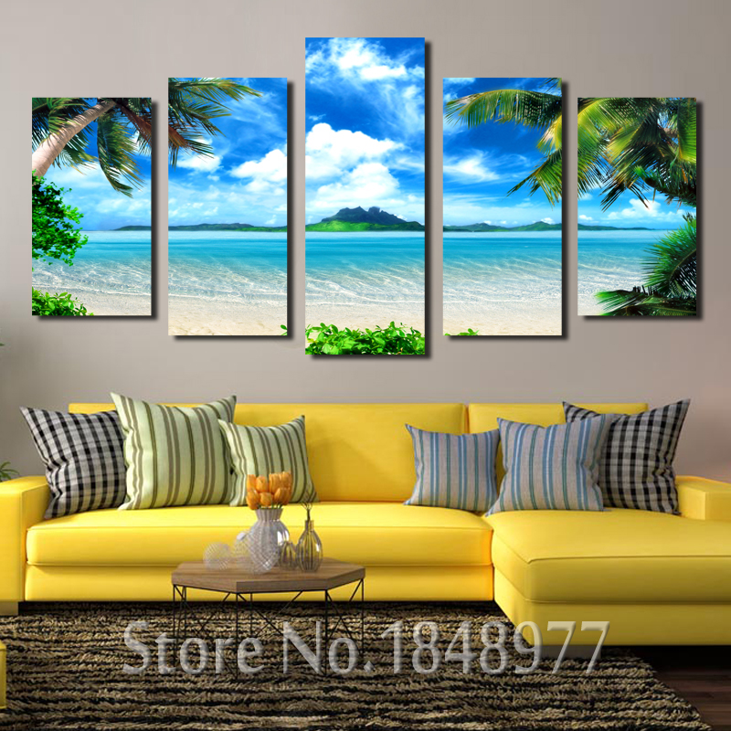 Large Modern Wall Art popular large canvas wall art beach-buy cheap large canvas wall