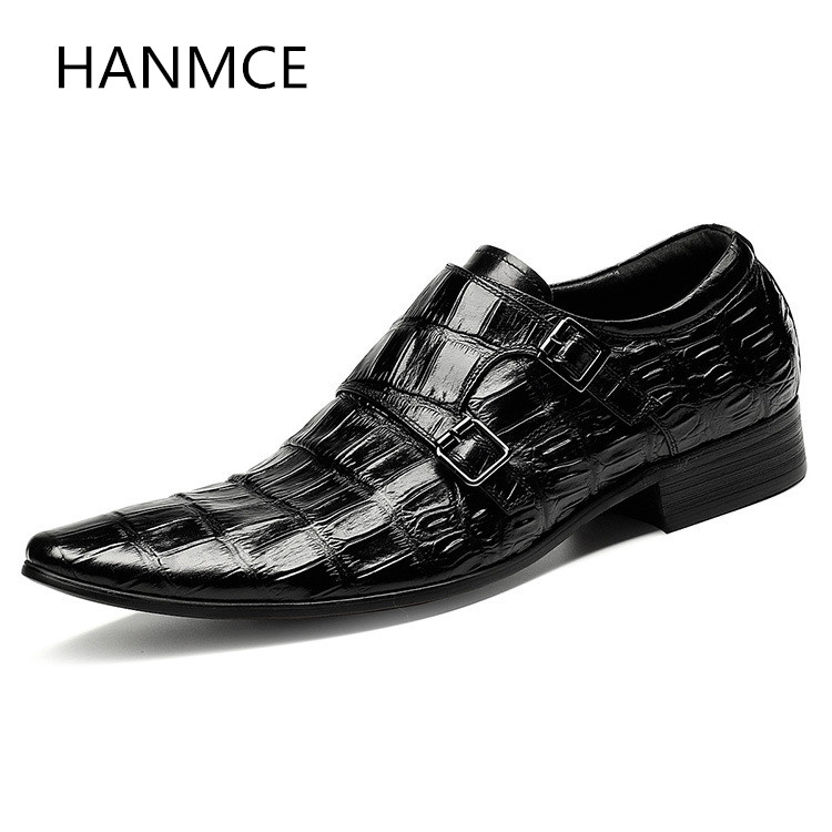 New mens fashion buckle embossed leather wedding shoes men pointed toe slip on design black red wedding shoes office work shoesNew mens fashion buckle embossed leather wedding shoes men pointed toe slip on design black red wedding shoes office work shoes
