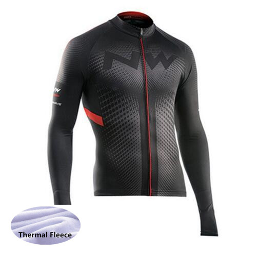 Jacket Cycling-Jersey Long-Sleeve Bike-Clothing Bicycle-Wear Fleece Maillot Ropa-Ciclismo