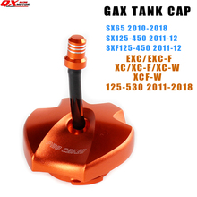 Keyless Gas Fuel Tank Cap Cover For KTM SX65 SX SXF 125-450 EXC EXCF XC XCF XCW 125-530 HUSQVARNA TE FE 125-501 TX FX 125-450 cover girl 125