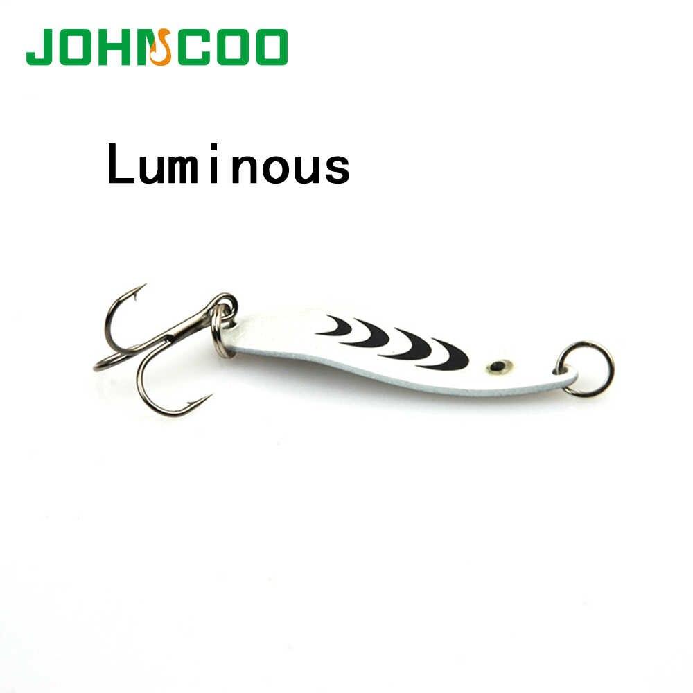 Новинка, 5 шт./лот, 5 см/6,5 г, 3D металлическая ложка для глаз, приманки, жесткая приманка, рыболовная приманка, блесна, приманка для окуня