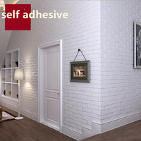 Self Adhesive Wallpapers for Walls 3D Brick Stone Wall Paprs Home Decor Cartoon Childern Photo Wallpapers Rolls for Living Room
