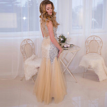 Sophoeniya Elegan Sexy mermaid evening dress Prom Dresses