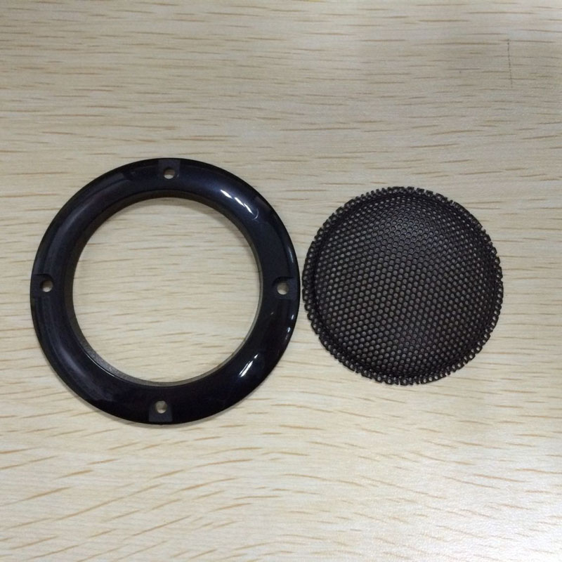 Speaker parts/ 2inch black car speaker grill,colorful speaker/metal grille/cover,Free Shipping