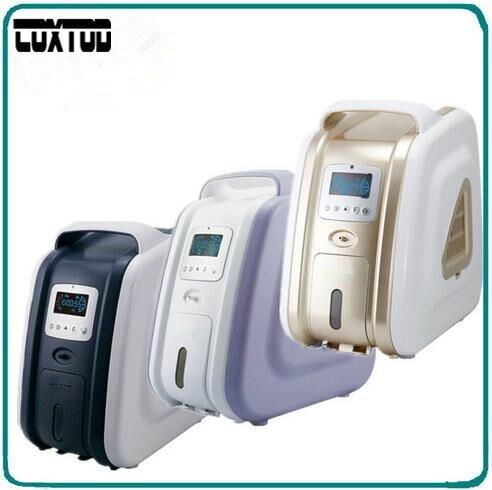 COXTOD Concentratore di Ossigeno 110/220 V Mini Concentratore di Ossigeno Portatile Generatore 3L/min 93% di Purezza Dell'ossigeno Barra Dell'ossigeno