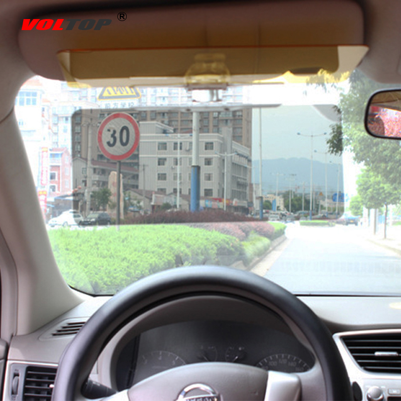 Car Sun Visor Sunglasses Side Protection Shields Sunshade Sun Block Day Night Driver Goggles Anti Glare HD Vision Visor Glasses