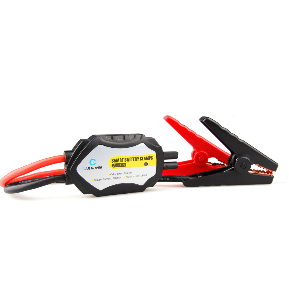Intelligent Alligator Clamps Smart Jumper Cables With Car Battery Charger Clamps Emergency Jump Starter Kit For 12V Vehicle