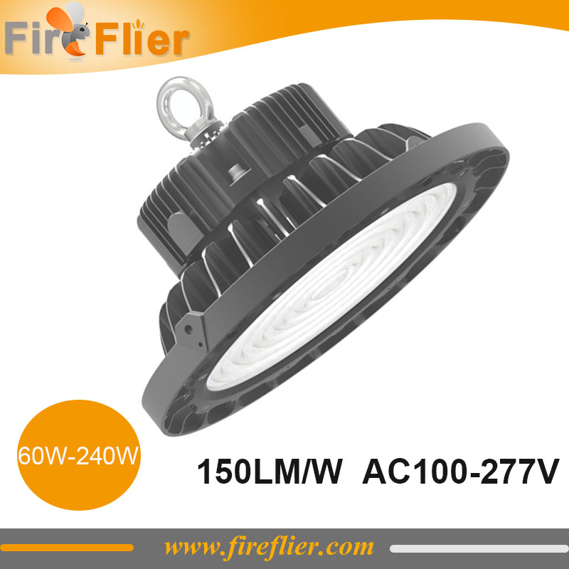 4pcs High Lumen 150lm/w UFO Led High Bay 200w Industrial Lamp 150w Low Bay Luminaire 240w 60w 100w 277v 347v Flood Lamp Ip67