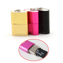 Memory-Card-Reader-Adapter Otg-Adapter Tablet/phones Tf-T-Flash SD Mini USB for 480 Mbps