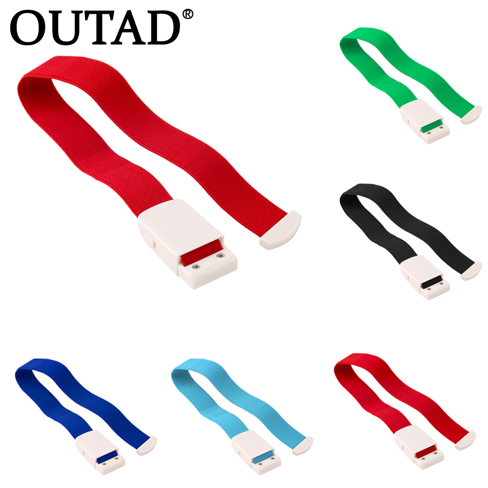 OUTAD 1pc Quick Slow Release Medical Paramedico Sport Tourniquet di emergenza fibbia di alta qualità