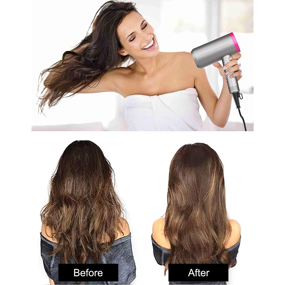New Supersonic Hairdryer volumizer Negative Ions Quick drying Electric Hair Care Tool Dryer High Power Hair