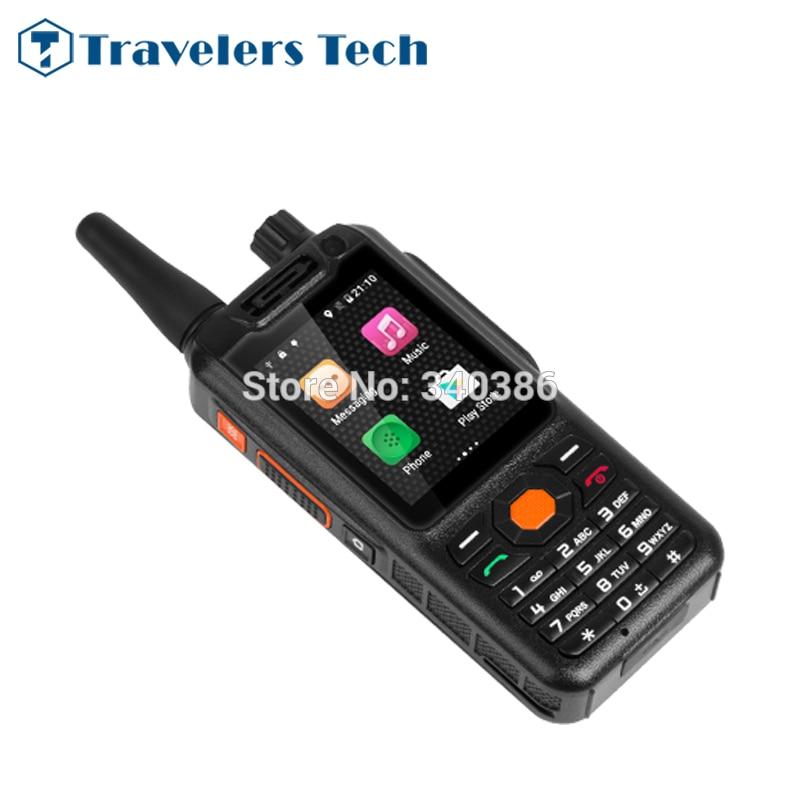bilder für Neue Mosthink F25 2,4 Zoll Kleine Größe 4G Zello Walkie Talkie Smartphone LTE Signal Booster Quad Core Android PTT handys