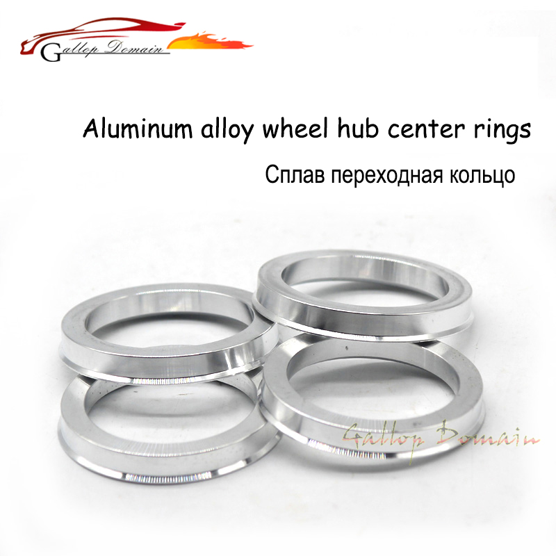 Gallop Domain 4pieces/lot 66.6-60.1 Hub Centric Rings OD=66.6mm ID=60.1mm Aluminium Wheel hub rings Free Shipping Car-Styling
