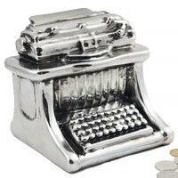 Creative European Retro Typewriter Storage Tank Big Savings Pot Ceramic Pocket Money Box Piggy Bank Cash Box Coin Bank Moneybox