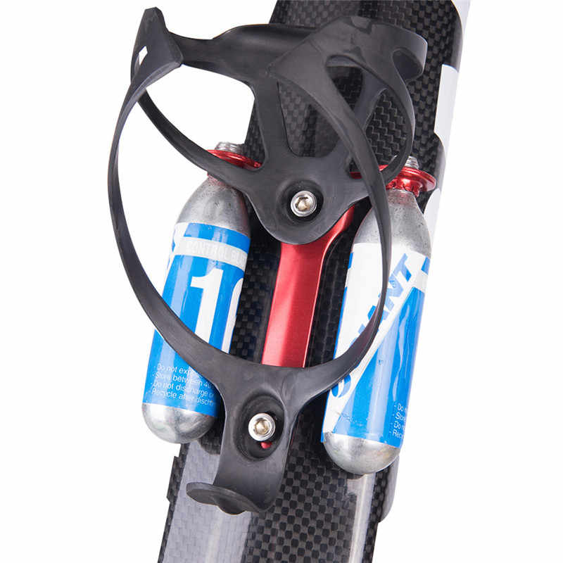 Bicycle CO2 Cartridge Holder MTB Portable Road Bike Water Bottle Mount Cage Lightweight Parts Cycling Outdoor Sports Accessories