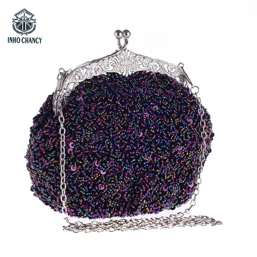 2018 women versatile fashion soft Sequin decoration handbag number of straps single pu material handbags type shoulder bags