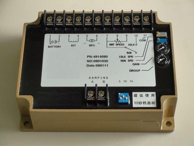 engine generator speed controller 4914090