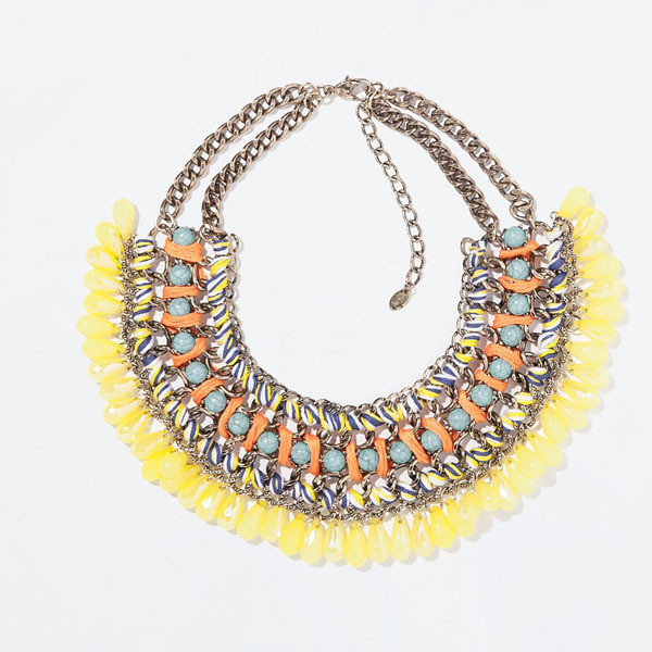 2014 New Bohemia handwoven choker Necklace Fashion tassel Necklaces & Pendants statement crystal Necklace women brand jewelry