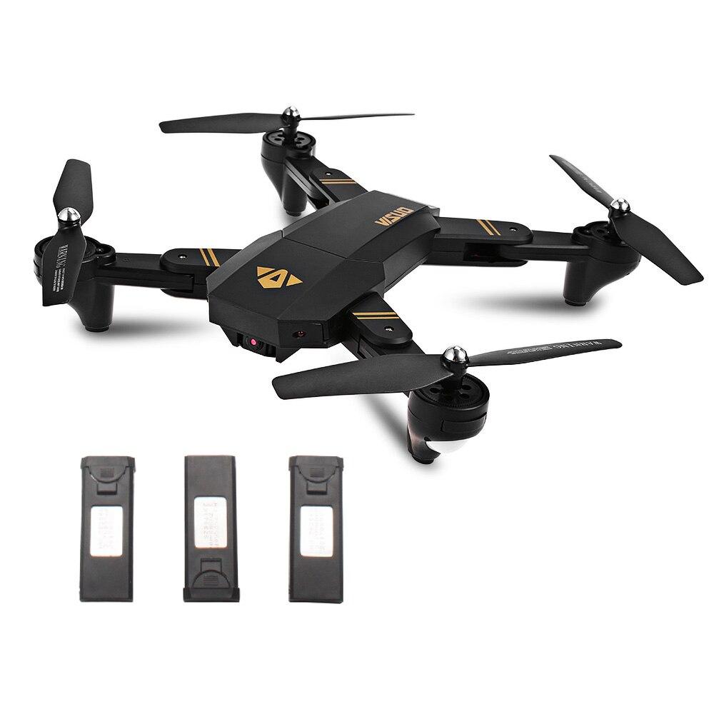TIANQU XS809W Foldable RC Drone RTF WiFi FPV G sensor Mode RC Helicopters Quadcopter One Key Return