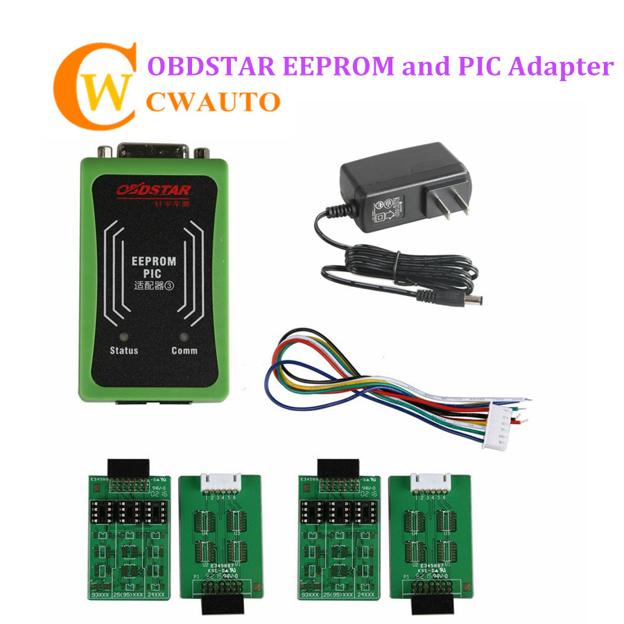 OBDSTAR X 100 Pro PIC und EEPROM 2-in-1 Adapter für X 100 PRO Auto Schlüssel Programmierer