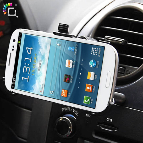 New arrival! 360 Rotation Car Air Vent Mount Stand Holder for Samsung Galaxy S3 SIII i9300, free shipping
