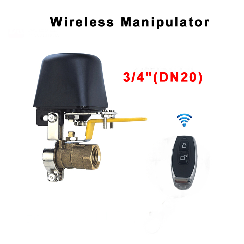 """Aggressive 3/4"""" Smart Water Valve Wireless Controller Smart Home Automation System Valve For Natural Gas Leak Detector 12v 1a Manipulator"""