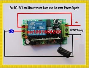Image 4 - Беспроводной пульт дистанционного управления, 3000 м, 12 в пост. Тока, 1 канал, 10 А, передатчик, светильник для обучения, 315433 МГц