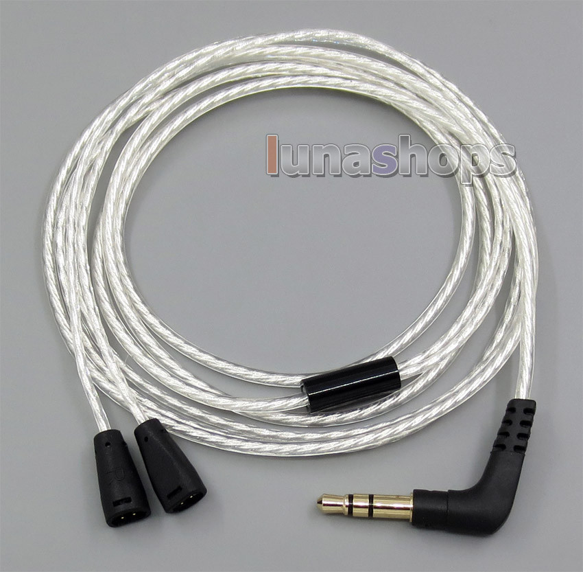 Lightweight Silver Plated 4N OCC Cable For Sennheiser IE8 IE80 IE8i IE80i Earmax LN005087