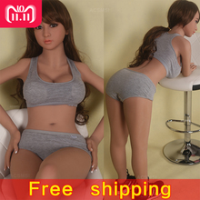 Sports Style Real Silicone Sex Dolls with Skeleton for Men The Sexual Doll Oral Anal Vagina Big Breast Adult Sex Love Doll