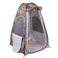 Single Person Fishing Portable Outdoor Pop Up Tent With Uv Function 120*120*170cm Can Be Use As Ice Or Night