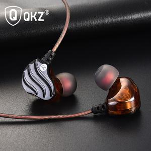 Image 2 - Earphones QKZ KD4 fone de ouvido Mini Dual Driver Original hybrid dual dynamic driver Headphone mp3 DJ Headset auriculares