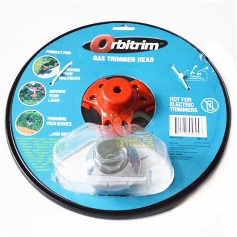 Universal Trimmer Head Brush Cutter Metal Blades Gas Weed Replacement Supply KI