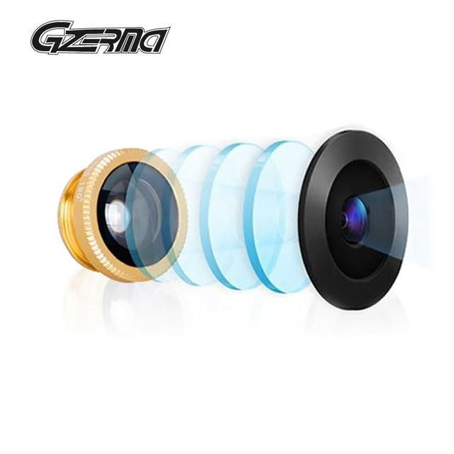 5 In 1 Universal Klip Kamera Ponsel Lensa Makro Fisheye Mata Ikan Sudut  Lebar Lensa untuk 3963151c21