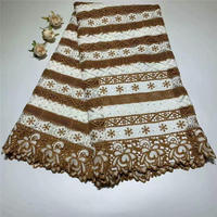 ZQ!Latest african Laces 2018 Lace Fabric Swiss Cotton lace African Swiss Voile Lace High Quality In Switzerland ! J10403