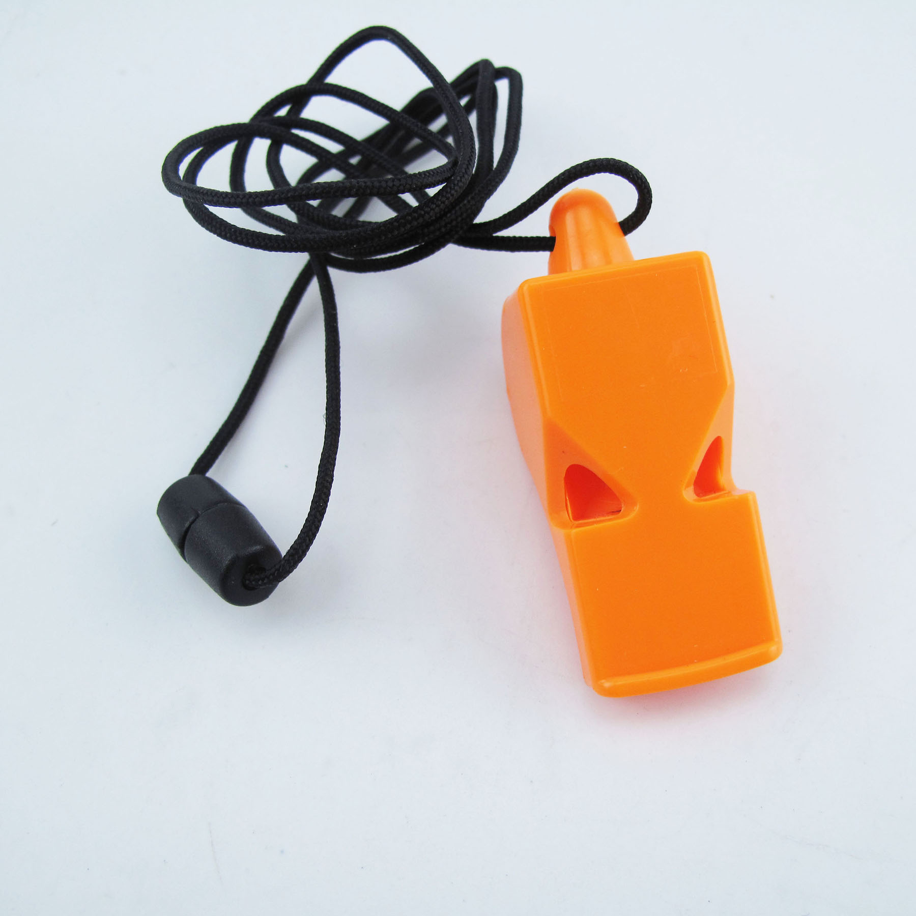 Emergency Plastic Whistle With Safty Cord