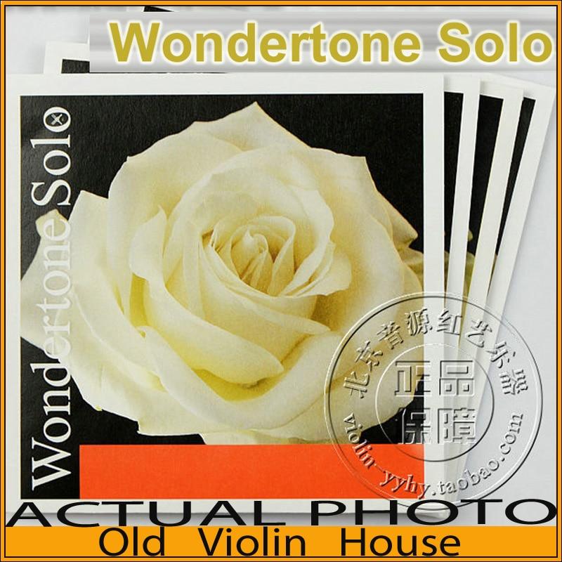 Pirastro Wondertone Solo Violin Strings full set 4/4 (410521) ,made in Germany,Hot sellPirastro Wondertone Solo Violin Strings full set 4/4 (410521) ,made in Germany,Hot sell